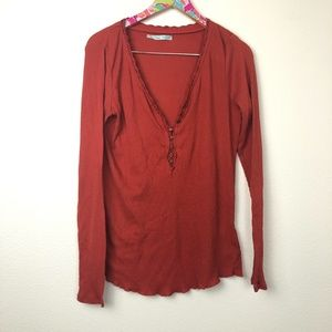 red Maurices thermal top size XL // 1332
